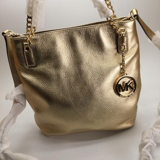 Michael Kors Leather Messenger Handbag Shoulder Bag Image 2