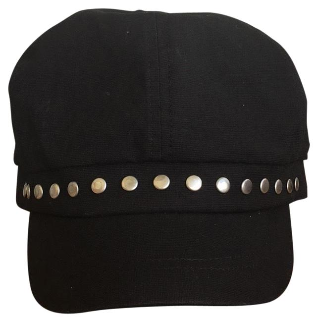 Item - Black with Silver Trim Size Small Hat
