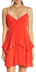 Kendall + Kylie short dress red on Tradesy