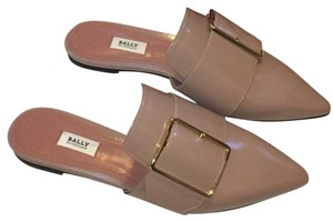 Bally Nude Mules