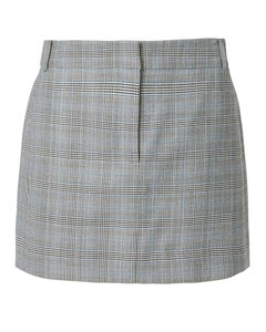 Tibi Mini Skirt Grey