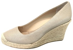J.Crew Seville Metallic Wedges