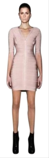 Item - Blush Mid-length Night Out Dress Size 4 (S)