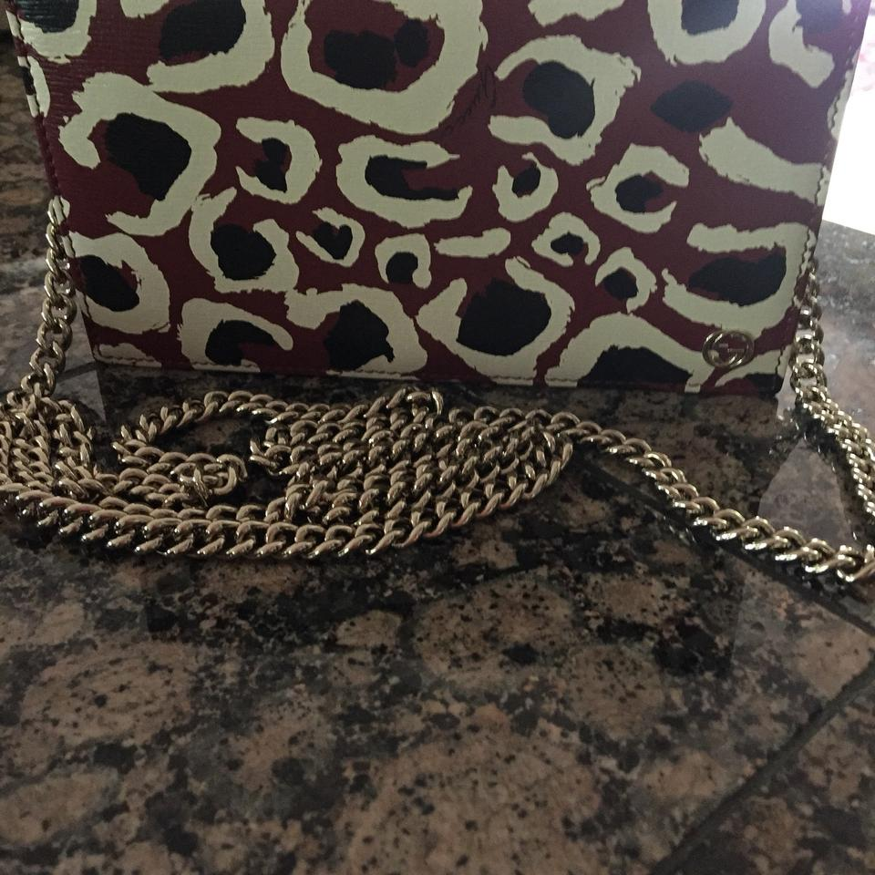 d9040f8f90f Gucci Betty Chain Wallet Mint Multicolor Leather Cross Body Bag ...