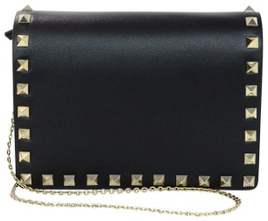 Valentino Studs Small Gold Hardware Cross Body Bag