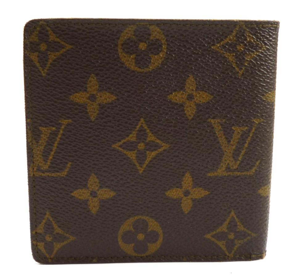 0b46398876a Louis Vuitton Brown Vintage Marco Monogram Canvas Bifold Wallet Men's  Jewelry/Accessory 48% off retail