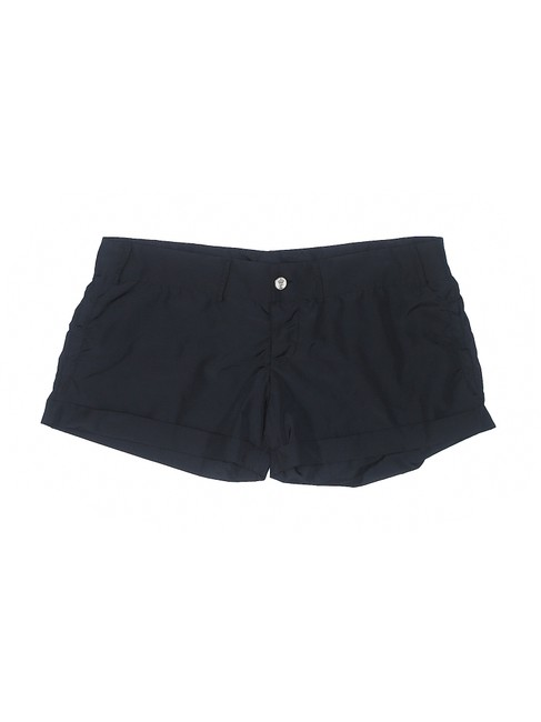 Just Cavalli Low Rise Black Polyester Comfortable Shorts Image 2
