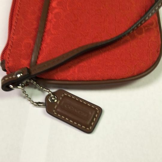 Coach Wristlet in Red Image 5
