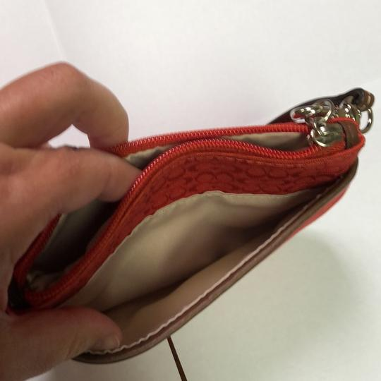 Coach Wristlet in Red Image 7