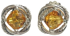 David Yurman GORGEOUS!! David Yurman Citrine Infinity Earrings