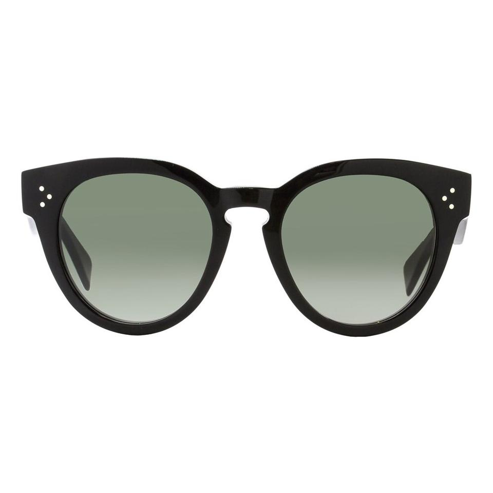 d158938de440 Céline Black Cl 41049 S Thin Preppy Sunglasses - Tradesy