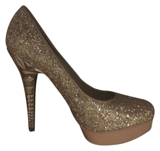 Rachel Roy Gold Pumps