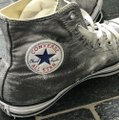 Converse Silver High Tops Sneakers Size US 10 Regular (M, B) Converse Silver High Tops Sneakers Size US 10 Regular (M, B) Image 3