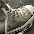 Converse Silver High Tops Sneakers Size US 10 Regular (M, B) Converse Silver High Tops Sneakers Size US 10 Regular (M, B) Image 4