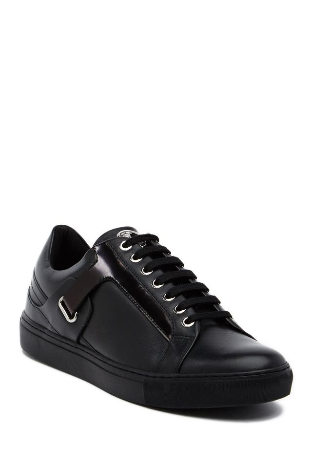 Versace Collection Black Men's Low Top Lace Up Sneakers Size US 9 Regular  (M, B) 43% off retail