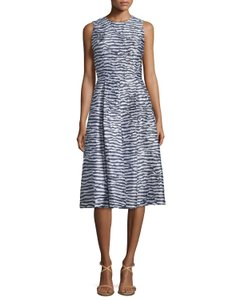 Michael Kors Collection With Pockets Dress