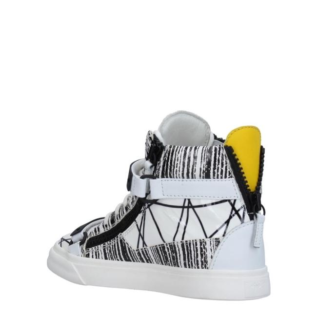 Giuseppe Zanotti Black White Yellow New Sneakers Size EU 36 (Approx. US 6) Regular (M, B) Giuseppe Zanotti Black White Yellow New Sneakers Size EU 36 (Approx. US 6) Regular (M, B) Image 1
