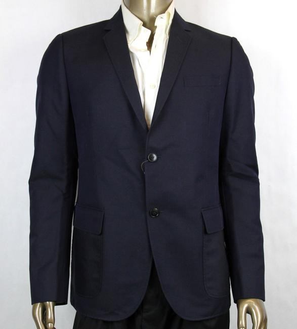 Gucci Blue Dylan'60 Selvage Jacket 2 Button It 52r/Us 42r 295439 4440 Groomsman Gift Gucci Blue Dylan'60 Selvage Jacket 2 Button It 52r/Us 42r 295439 4440 Groomsman Gift Image 1