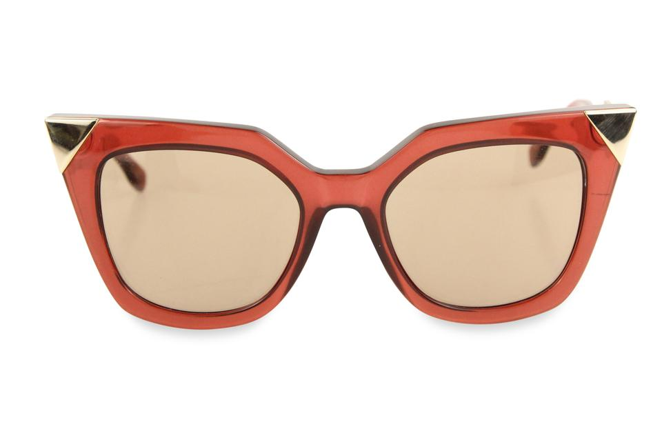 8bf94a2562 Fendi Red Iridia Sunglasses - Tradesy