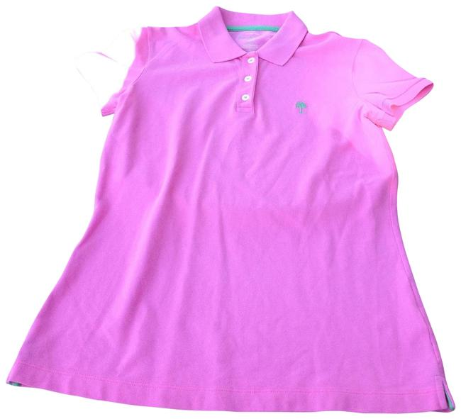 Preload https://img-static.tradesy.com/item/23648810/lilly-pulitzer-pink-polo-small-button-down-top-size-6-s-0-1-650-650.jpg