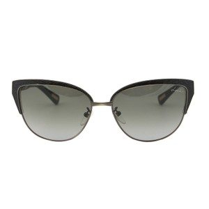 Lanvin New Paris SLN 036N 448 Piton Leather Cat Eye Sunglasses