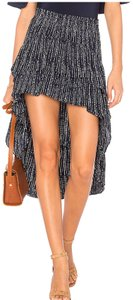 MISA Los Angeles Maxi Skirt blue and white