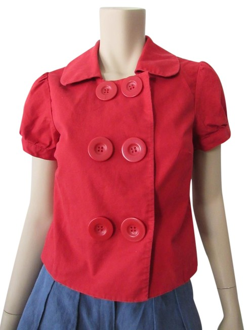 Preload https://img-static.tradesy.com/item/23648928/the-limited-red-double-breast-button-short-sleeve-crop-shirt-blouse-button-down-top-size-6-s-0-1-650-650.jpg