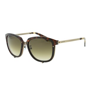 Lanvin Lanvin Paris SLN 046 8G2 Women Square Bronze Metal Details Sunglasses