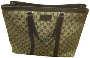 Gucci New Unisex Three Sections Shoulder Bag