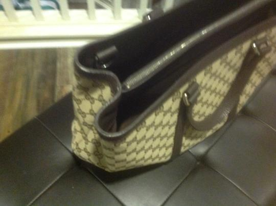 Gucci New Unisex Three Sections Shoulder Bag Image 1