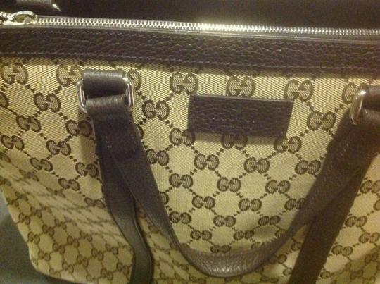 Gucci New Unisex Three Sections Shoulder Bag Image 10