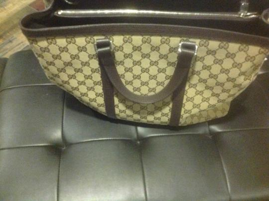 Gucci New Unisex Three Sections Shoulder Bag Image 5
