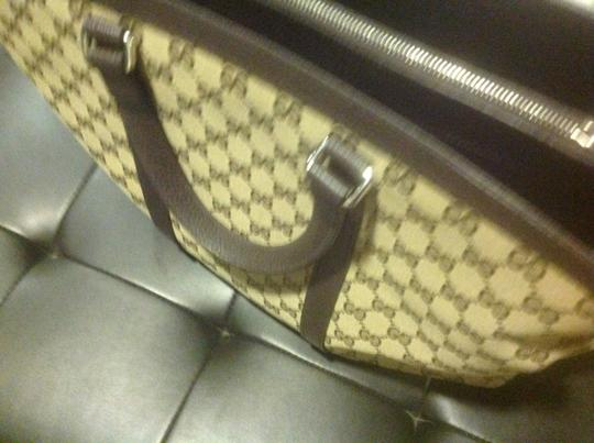 Gucci New Unisex Three Sections Shoulder Bag Image 7