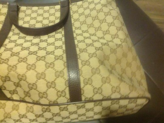 Gucci New Unisex Three Sections Shoulder Bag Image 8