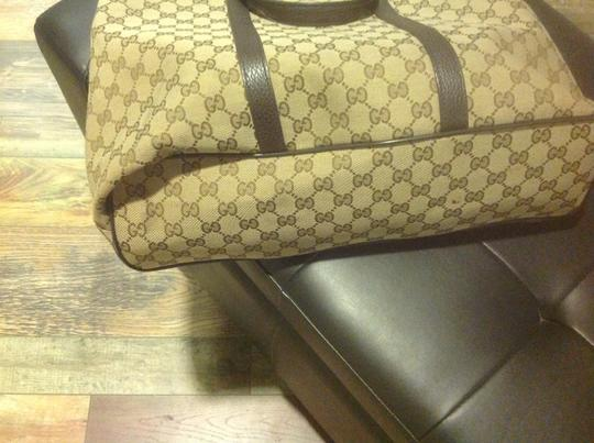Gucci New Unisex Three Sections Shoulder Bag Image 9