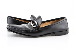 Hermès * Black Leather Loafers Shoes