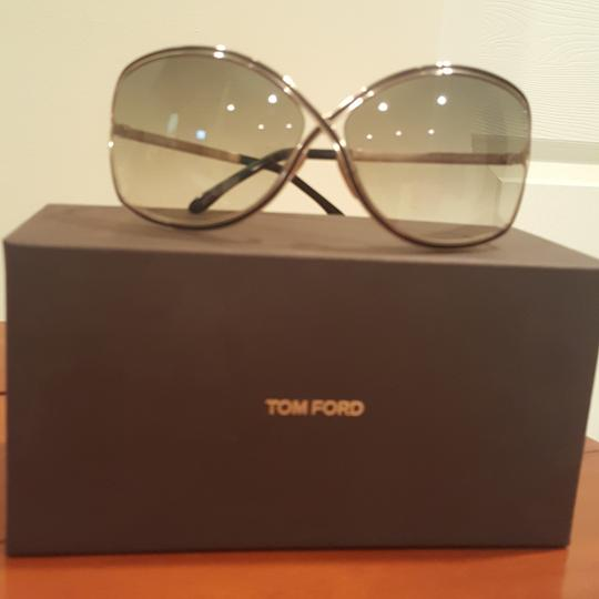 9e50d391a3 tom ford gold frame with gradient brown lens rickie sunglasses 58% off  retail. TRADESY