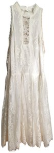 Free People Lace Formal Wedding Empire Waist Dress