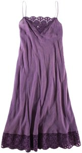 dosa short dress Purple Slip Lace on Tradesy