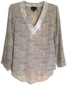Lumiere And Striped Polyester Tunic