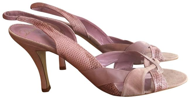 Delman Pink Sandals Size US 10 Regular (M, B) Delman Pink Sandals Size US 10 Regular (M, B) Image 1
