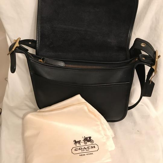 Coach Purse Handbag Shoulder Saddle Vintage Cross Body Bag