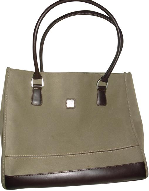 Diane von Furstenberg Logo Dvf Initials Dvf Lining Dvf Zipper Tag Khaki Brown Suede Leather Shoulder Bag Diane von Furstenberg Logo Dvf Initials Dvf Lining Dvf Zipper Tag Khaki Brown Suede Leather Shoulder Bag Image 1