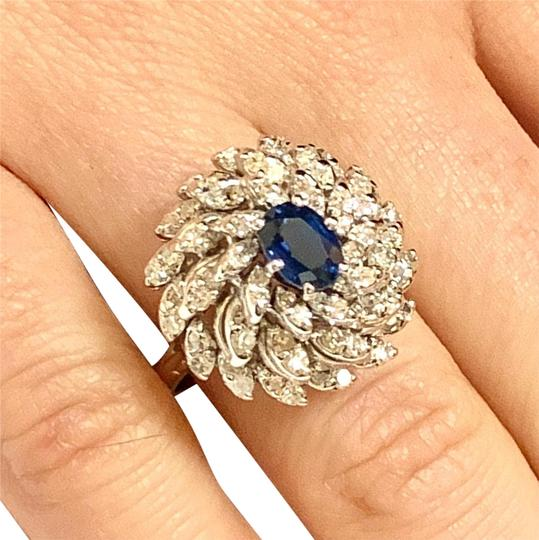 Preload https://img-static.tradesy.com/item/23650190/blue-certified-5950-magnificent-ladies-sapphire-and-diamond-626mm-14kt-14209-ring-0-12-540-540.jpg
