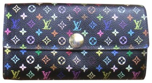 Louis Vuitton LOUIS VUITTON M93747 Monogram Multi Color Portefeuille Sarah Wallet