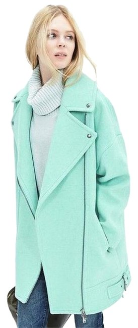 Item - Mint Cocoon Moto Coat Size 4 (S)