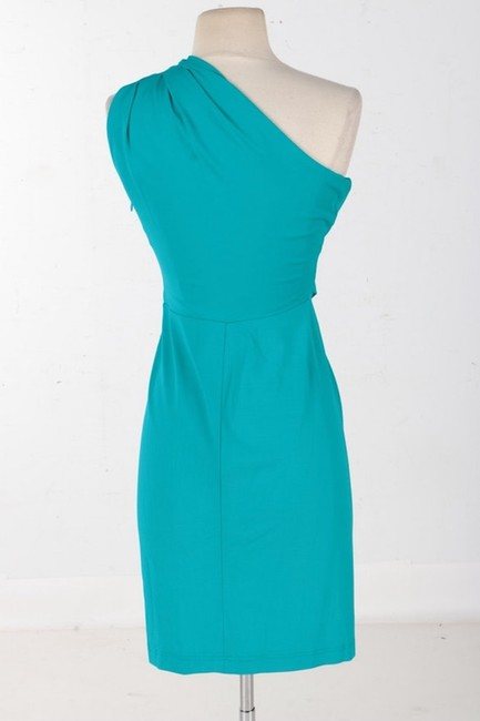 MICHAEL Michael Kors One Shoulder Ruched Fitted Dress Image 1