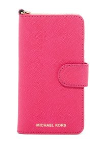 Michael Kors MICHAEL KORS Saffiano Leather Folio Phone Case For iPhone7/8 NWt