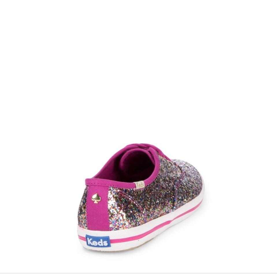 Champion Kate Pink Glitter Spade Sneakers wqqvxZYn
