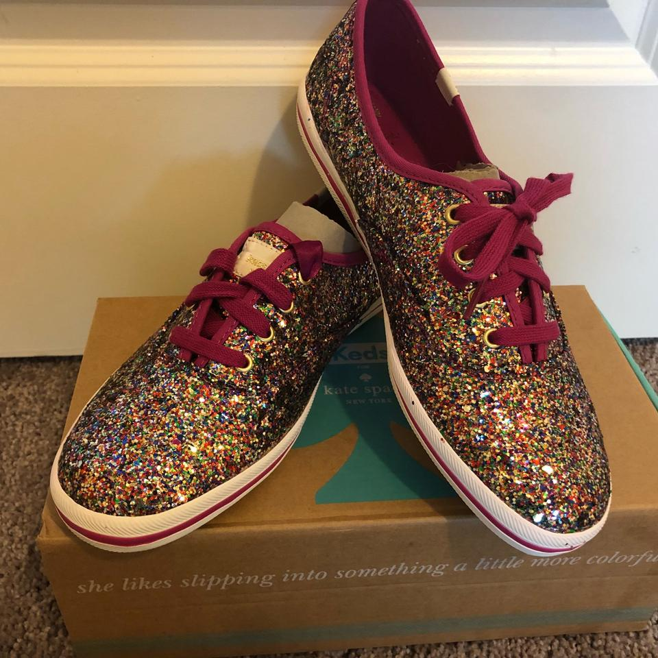 Champion Sneakers Spade Glitter Kate Pink W80Ywnq1